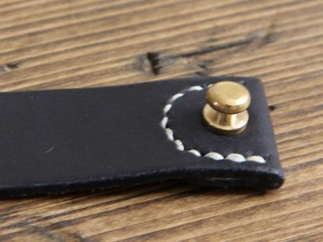 SOXISIX LEATHER BRACELET No.49/BLACK