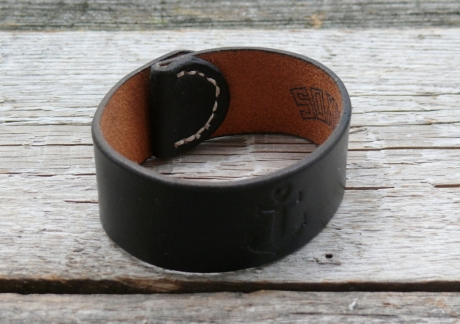 SOXISIX LEATHER BRACELET No.49/BLACK