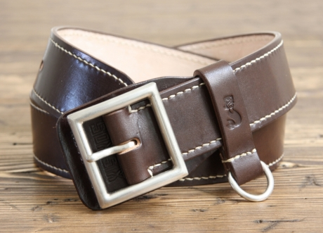 SOXISIX BELT VZ.20-AG/DARK BROWN