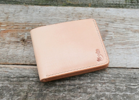 SOXISIX BIFOLD WALLET PM.45/VEGETABLE TAN