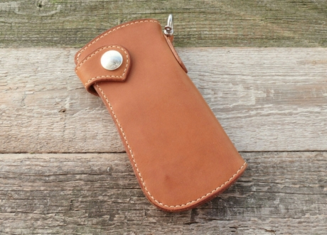 SOXISIX WALLET PM.49 SIMPLE/COGNAC