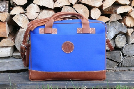 SOXISIX BRIEFCASE BAG VZ.31/FELT/BLUE