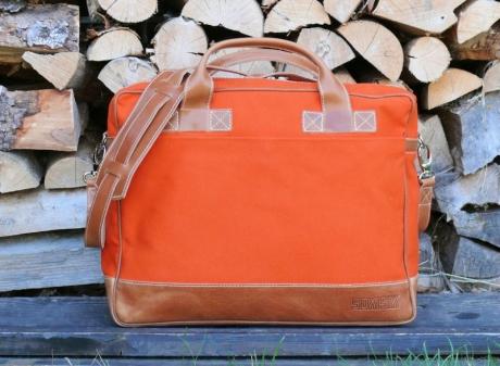 SOXISIX BRIEFCASE BAG VZ.31/Orange