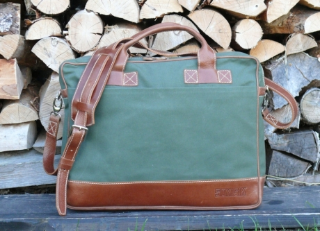 SOXISIX BRIEFCASE BAG VZ.31/OLIVE