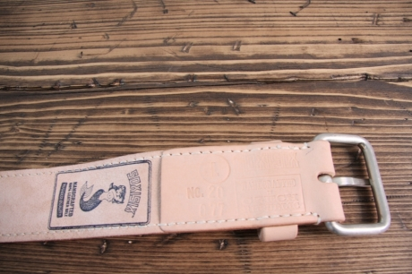 SOXISIX BELT VZ.20-C:UN/VEGETABLE TAN