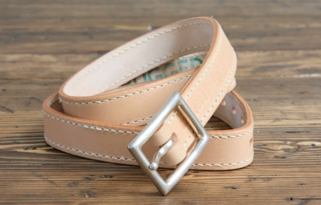 SOXISIX BELT VZ.20-V:UN/VEGETABLE TAN