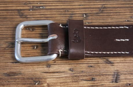SOXISIX BELT VZ.31-D:UN/Dark Brown