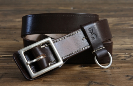 SOXISIX BELT VZ.31-R/Dark Brown