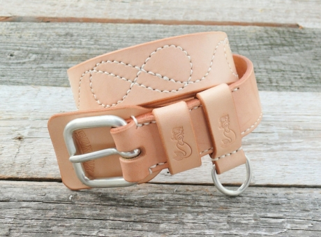 SOXISIX BELT VZ.24-S/VEGETABLE TAN