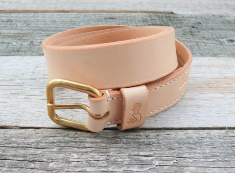 SOXISIX BELT VZ.31-J:UN/VEGETABLE TAN