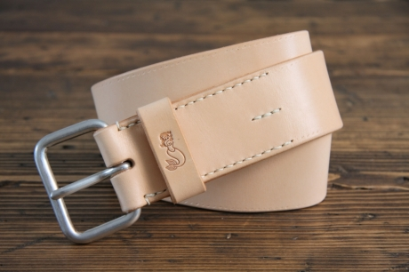 SOXISIX BELT VZ.31-C:UN/VEGETABLE TAN