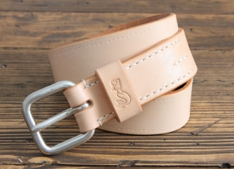 SOXISIX BELT VZ.31-S:UN/VEGETABLE TAN