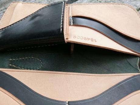 SOXISIX WALLET Horween Shell Cordovan® PM.49/BLACK