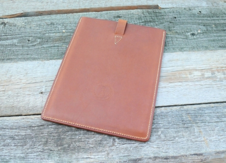 SOXISIX LEATHER COVER IPAD AIR/COGNAC