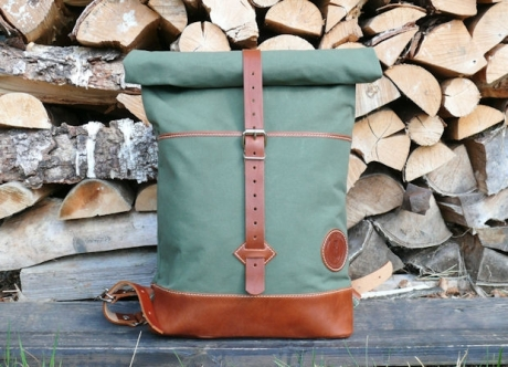 SOXISIX ROLL TOP BACKPACK VZ.32/OLIVE