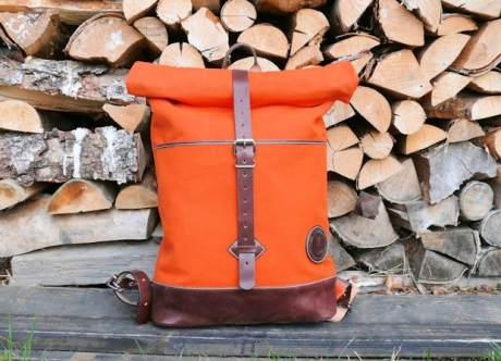 SOXISIX ROLL TOP BACKPACK VZ.32/ORANGE