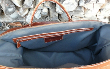 SOXISIX TRAVELER BAG VZ.37/LEATHER/PONCHO COIVO